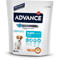Advance Mini Puppy Chicken&Rice koeratoit kana ja riisiga mini-kutsikatele, 7,5kg