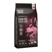 Prima Dog täistoit lõhe-kartuli kõikidele täiskasvanud koertele, 10 kg