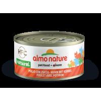 Almo Nature HFC Cat Chicken & Pumpkin - kassikonservid kanalihaga ja kõrvitsaga, 70 g