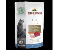 Almo Nature Cat HFC Tuna&Sole Fillets Jelly konserv kassidele tuunikala ja lestaga, 55 g