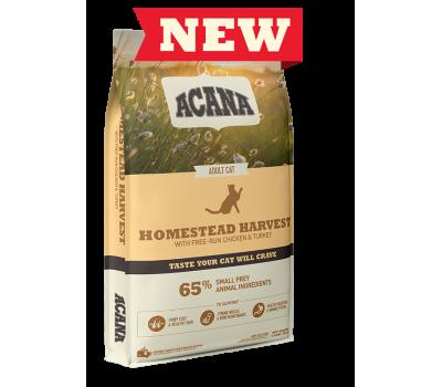 ACANA Cat Homestead Harvest täissööt kana-ja kalkunilihaga täiskasvanud kassile, 1,8 kg Kassitoit (kuivtoit)