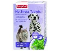 Beaphar No Stress Tablets Cat/Dog  looduslikud stressi alandavad tabletid kassidele ja koertele, N20