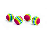 Beeztees kassi mänguasi soft cat playball de luxe n4