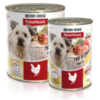Bewi Dog Rich in Chicken konserv täiskasvanud koertele kanafileega, 6x800g