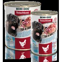 Bewi Dog Rich in Poultry hearts konserv täiskasvanud koertele linnusüdametega, 6x400g