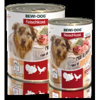 Bewi Dog Rich in Poultry konserv täiskasvanud koertele kodulinnulihaga, 6x400g