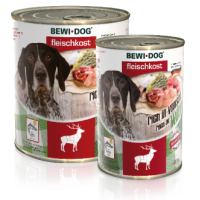 Bewi Dog Rich in Venison konserv täiskasvanud koertele ulukilihaga, 6x400g