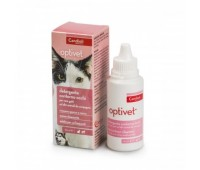 Candioli Optivet silmaümbruse puhastuslahus koertele ja kassidele, 50 ml
