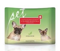 Derbe koera/kassi puhastuslapid kloorheksidiin n35