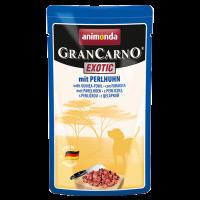 Animonda Gran Carno Exotic pärlkana konservid koertele, 16x125 g