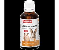 Beaphar Lebensvitamine multivitamiin närilistele, 50ml