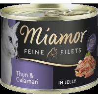 Miamor kassi konservid tuunikala ja kalmaarid, 6*100g
