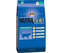 Nutra Gold Holistic Indoor Adult Cat - kanaga täissööt tubastele kassidele, 3 kg