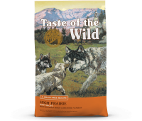 Taste Of The Wild High Prairie teraviljavaba kuivtoit kutsikatele pühvli- ja hirvelihaga, 12,2kg