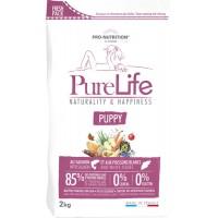 Pro-Nutrition Pure Life Puppy teraviljavaba täissööt kutsikatele, lõhe ja valge kalaga, 2kg