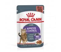 Royal Canin Cat Appetite Control Gravy täisväärtuslik toit täiskasvanud kassidele kastmes, 12x85g
