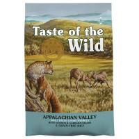 Taste of the Wild Appalachian Valley teraviljavaba kuivtoit väikest tõugu igat vanuses koertele, 2kg
