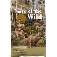 Taste of the Wild Pine Forest teraviljavaba kuivtoit värske talle- ja hirvelihaga igat vanuses koertele, 2 kg