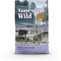 Taste of the Wild Sierra Mountain teraviljavaba kuivtoit lambalihaga igat vanuses koertele, 12,2 kg