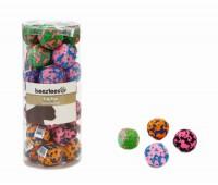 Beeztees kassi mänguasi pall tekstiilist funny 4cm n1