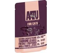 Aatu kassi einekotike lõhe/kana/krevett 85g