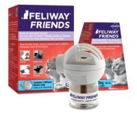 Feliway friends kassi difuusor+täitepudel, 48ml n1