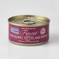 F4c kassi konserv makrell/anšoovis 70g