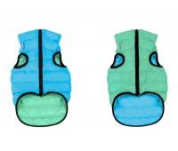 Collar koera vest airyvest lumi s 35cm roheline/sinine