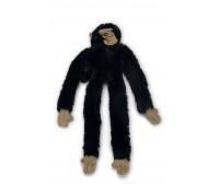 Beeztees koera mänguasi ahv pehme must 50cm