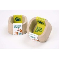 Koera/kassi kauss ühekordne eco pet box 155x155x60mm n3