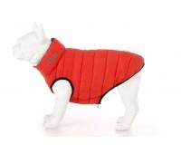 H&h koera kahepoolne vest l55 punane/sinine