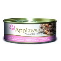 Applaws kassi konserv tuunikala/krevett 156g n1