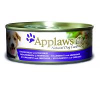 Applaws koera konserv kana/juurvili 156g n1