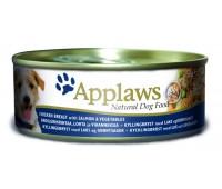 Applaws koera konserv kana/lõhe/riis 156g n1