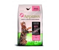 Applaws kassi täissööt kana/lõhega 0,4kg