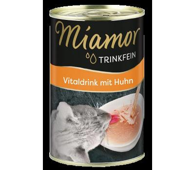 Miamor -  jook kanalihaga täiskasvanud kassidele, 135ml Kassikonservid