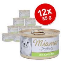 Miamor pasteet kassidele küülikulihaga, 12*85g
