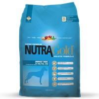 Nutra Gold Holistic Adult Dog - kanalihaga täissööt keskmist tõugu koertele, 15 kg