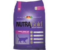 Nutra Gold Holistic Finicky Adult Cat - kanaga täissööt pirtsakatele või tundliku seedimisega kassidele, 1 kg