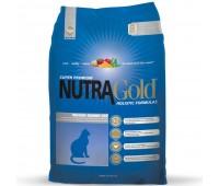 Nutra Gold Holistic Indoor Senior Cat - kanaga täissööt vanematele tubastele kassidele, 3 kg
